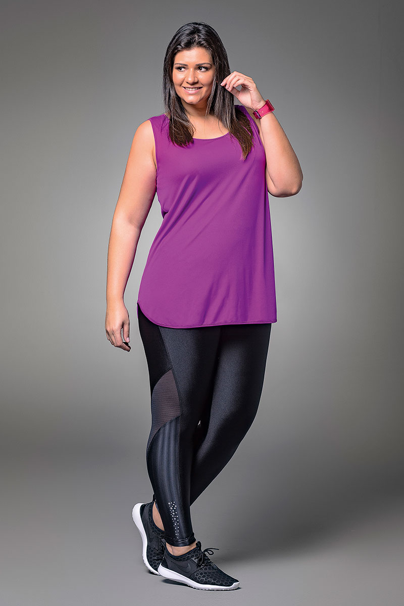 Alto Curves Side Mesh Legging