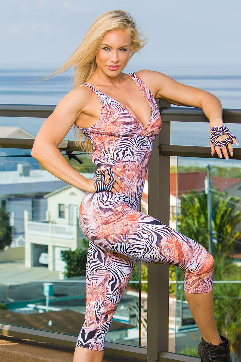 Bia Brazil Animal Abstract One Piece