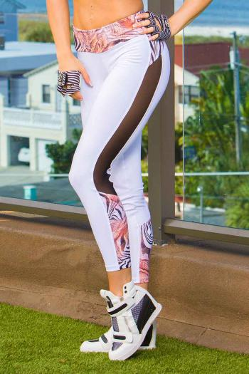 Bia Brazil Animal Abstract Legging