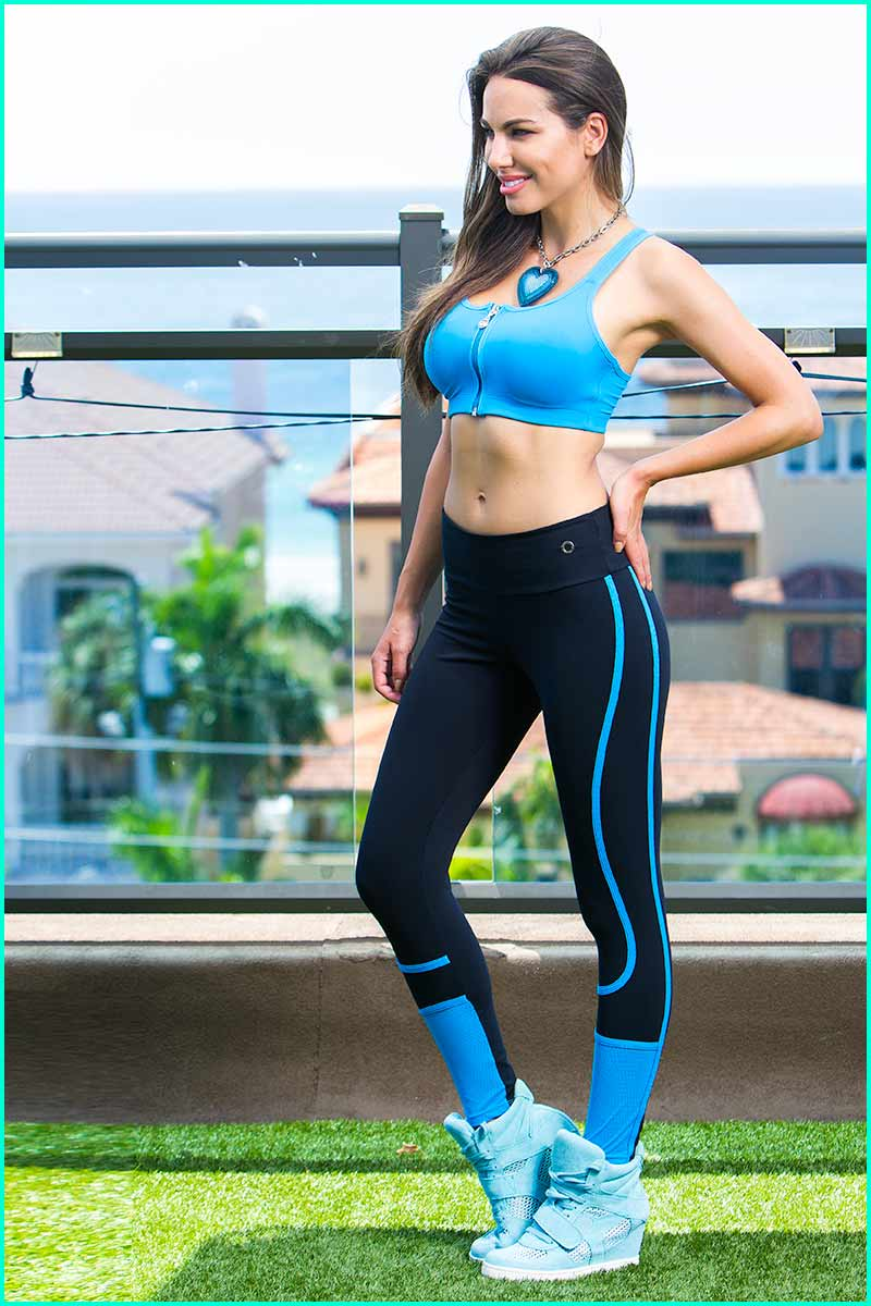 BlueFish Mesh Spin Legging