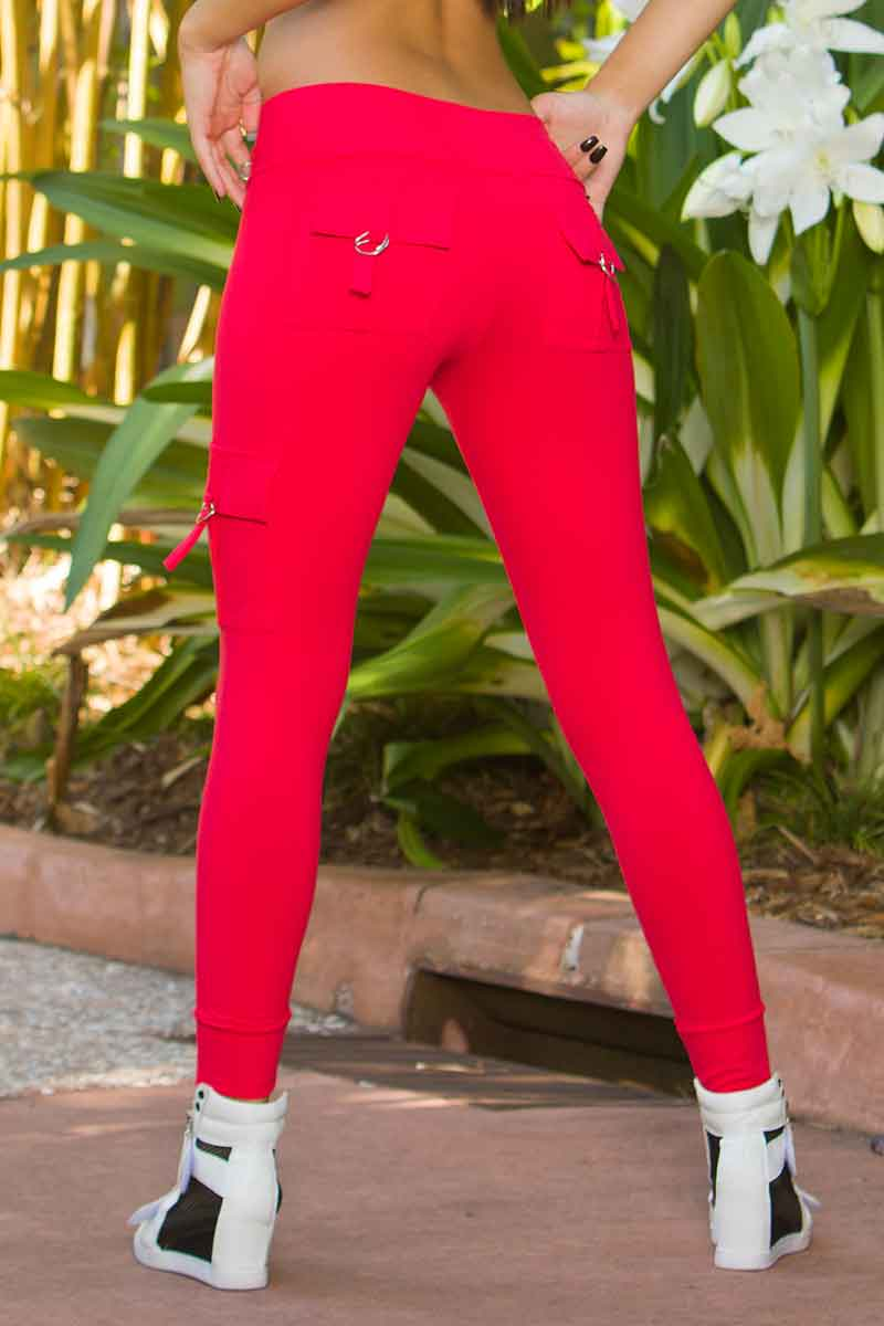 BlueFish Red Hot Cargo Legging