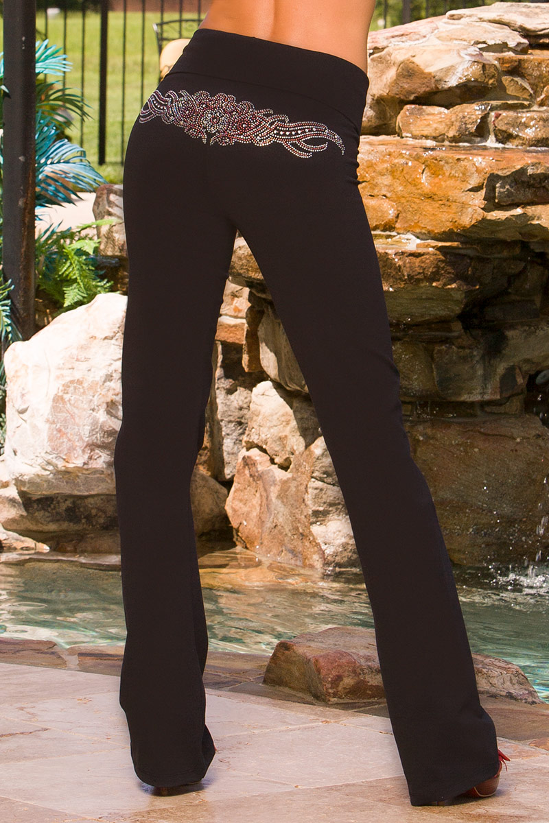 BlueFish Wings Away Pants (Crystal & Studs)