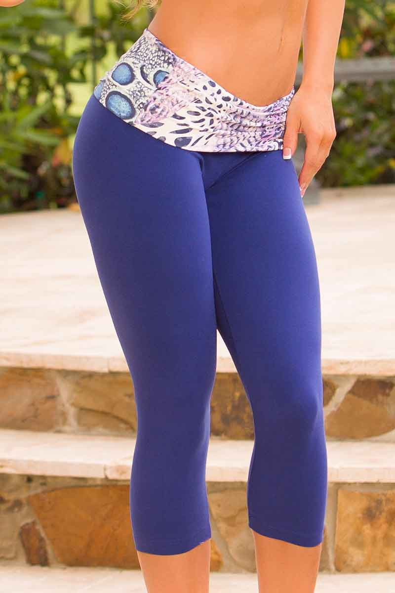 Body Brazil Fiji Fold Over Capri