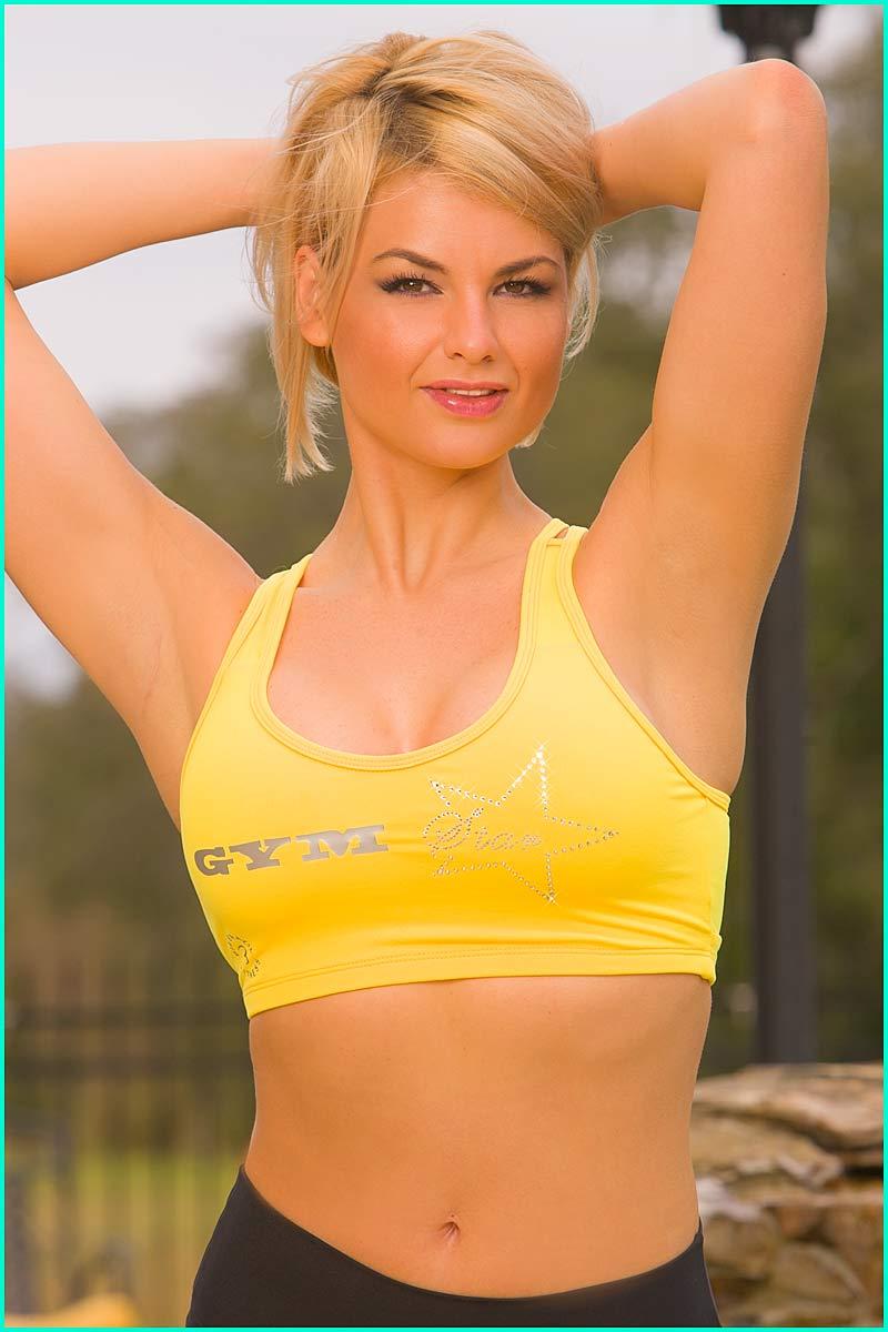 Body Brazil Gym Star  Sunglow Bra