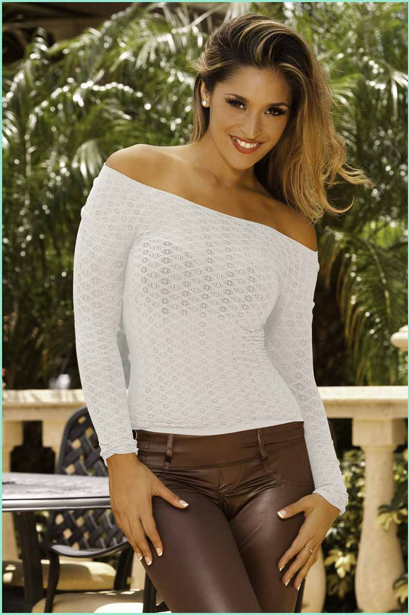Scala Angel Lace Top