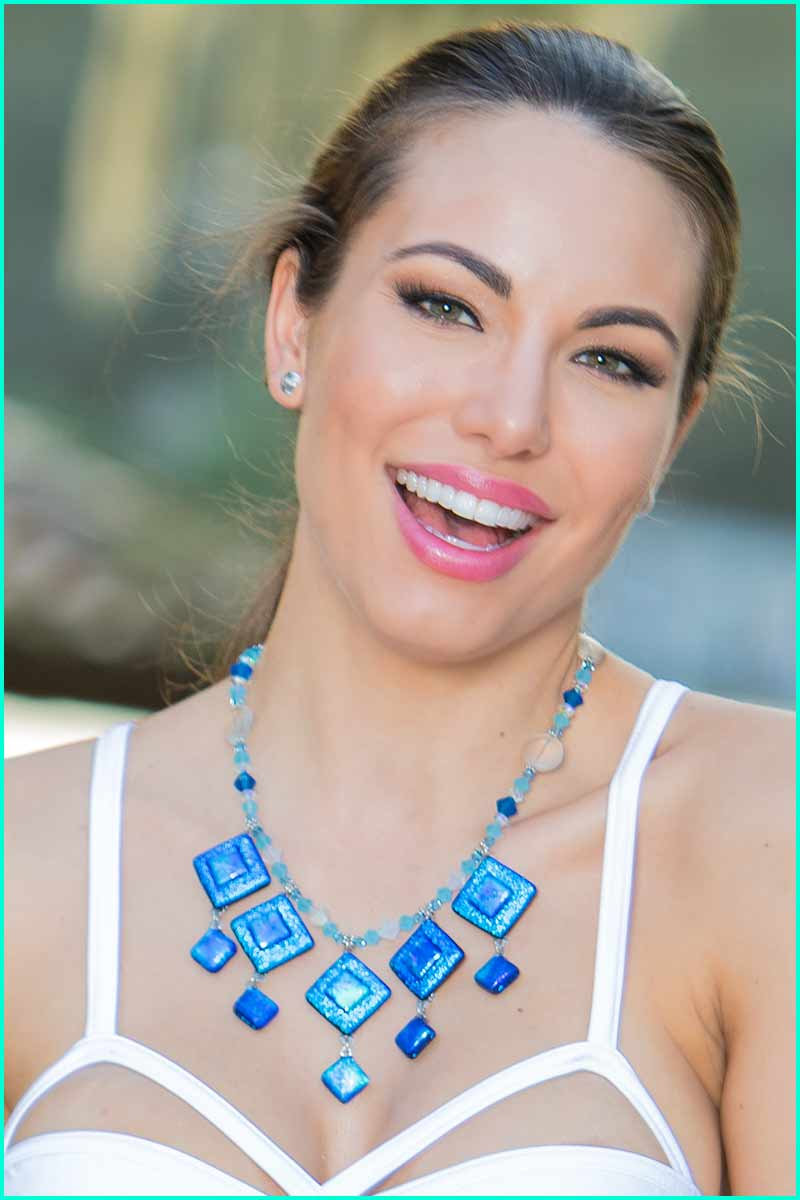 Statement Cobalt Necklace