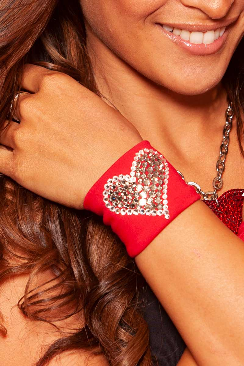 Rock My Heart Wristband