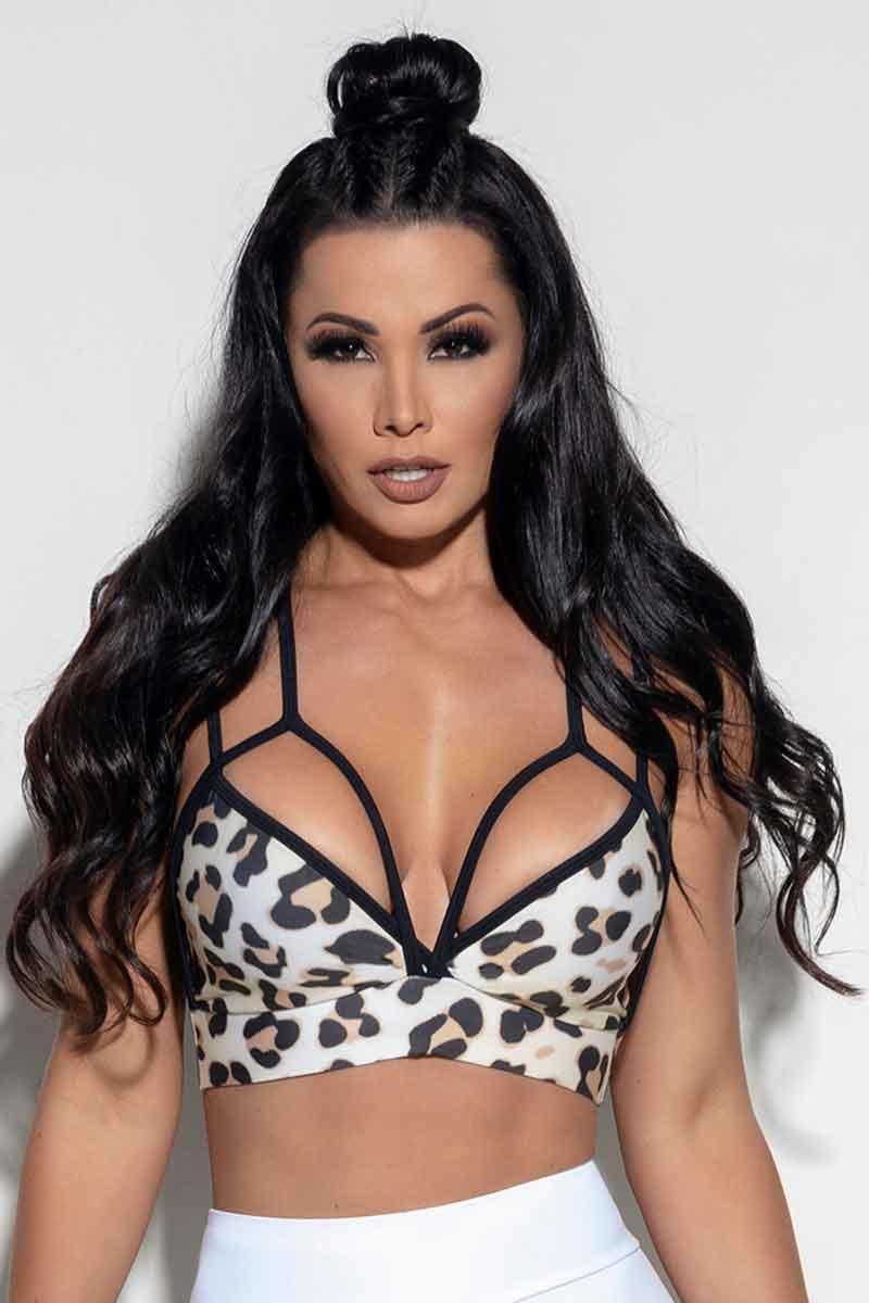 Hipkini Chic Cheetah Bra