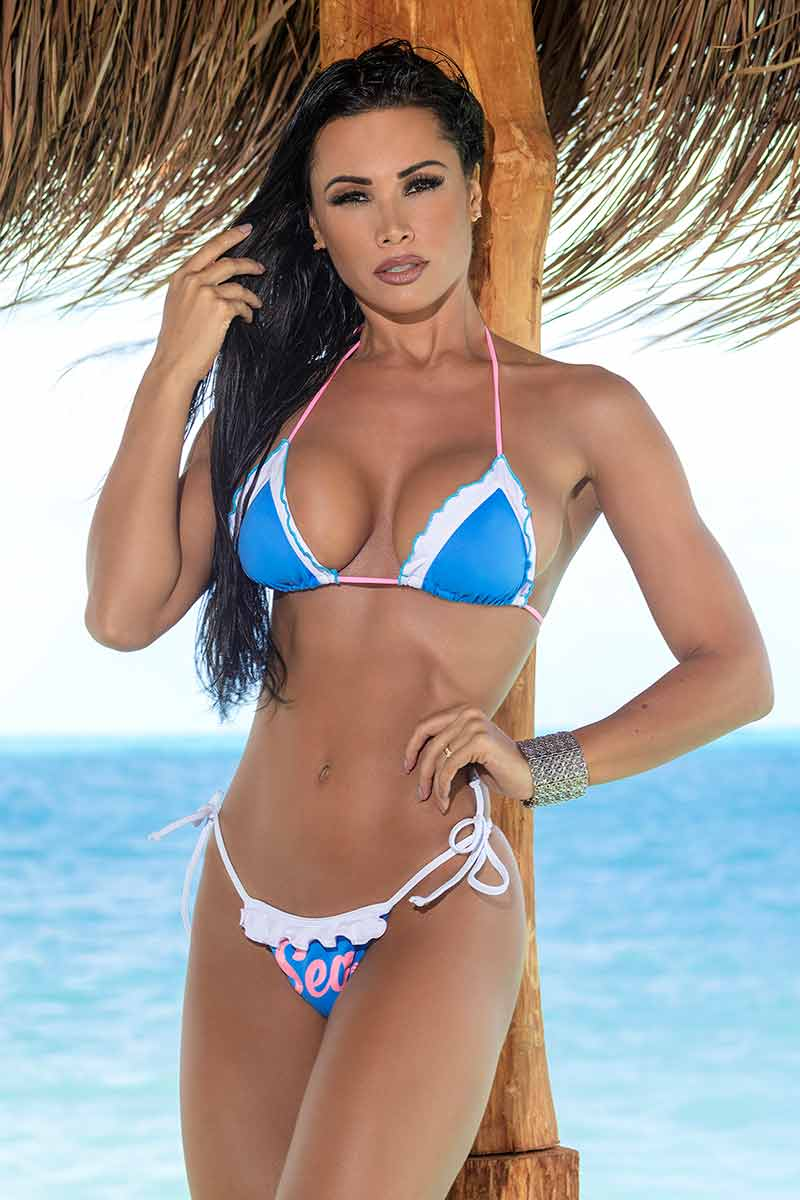 Hipkini Clear Sea Bikini