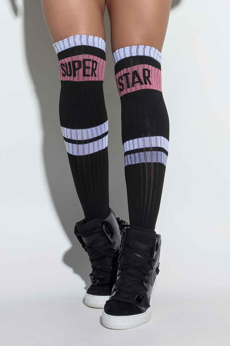 Hipkini Ebony Superstar Socks