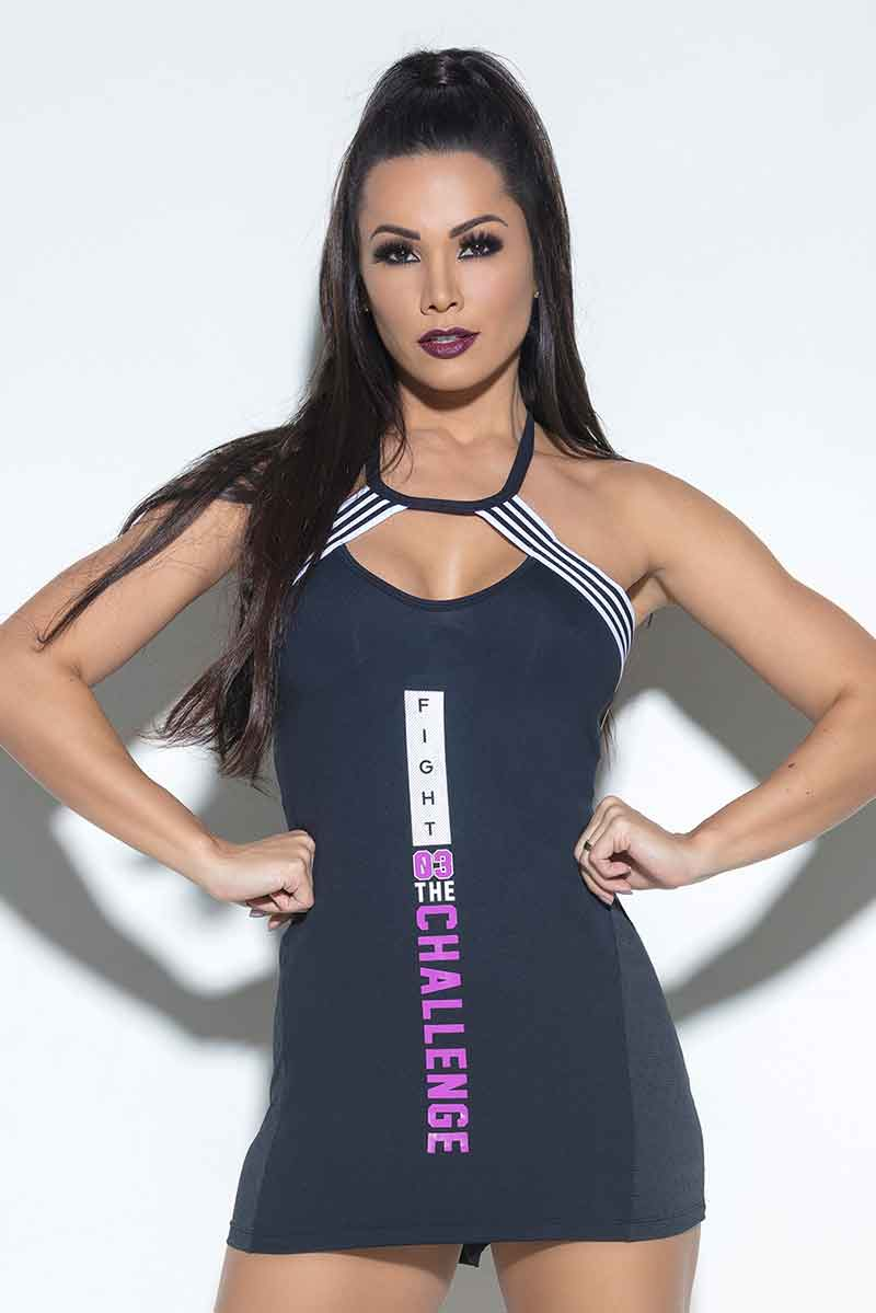 Hipkini Fight The Challenge Tank Dress