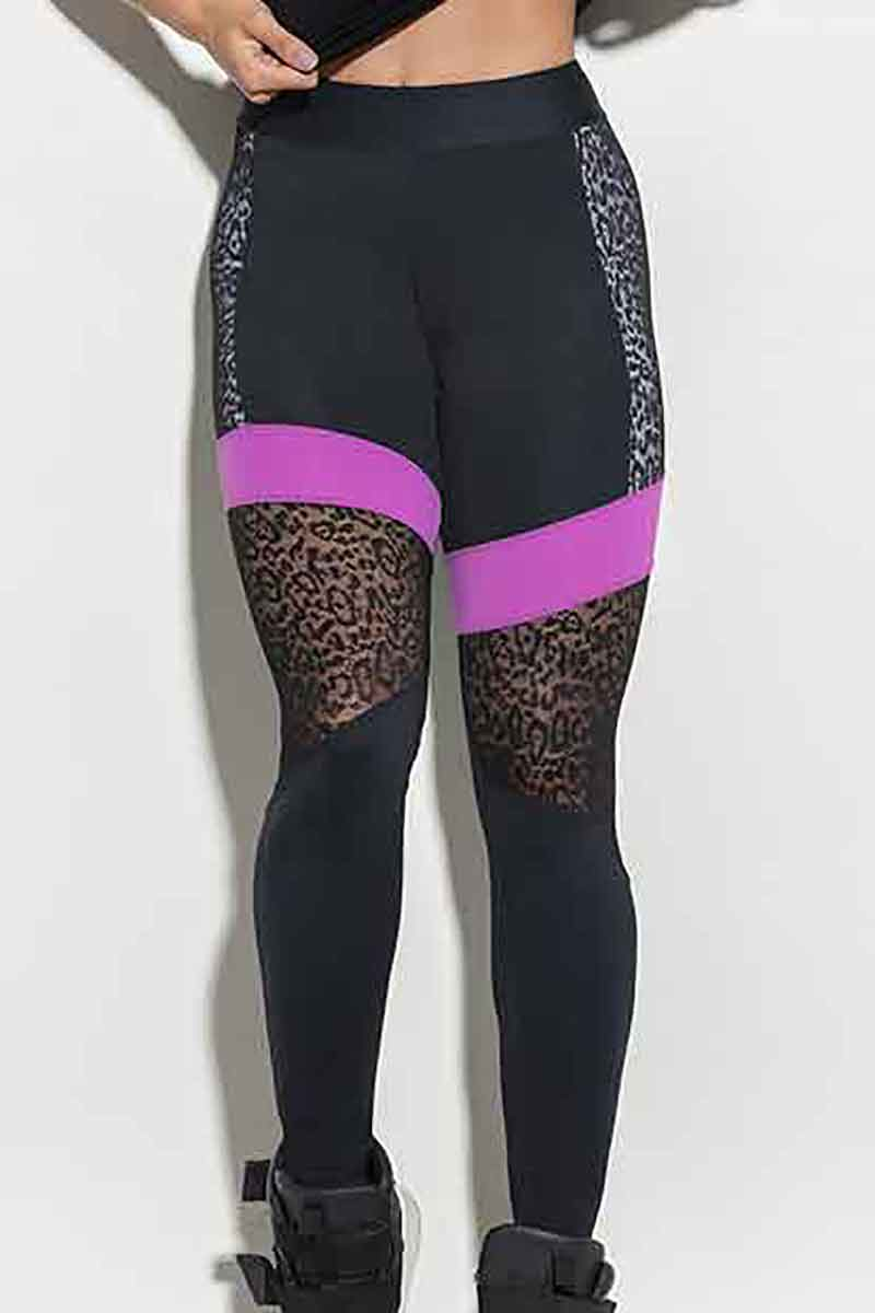 f6962df0725 Hipkini Lace White Leopard Legging