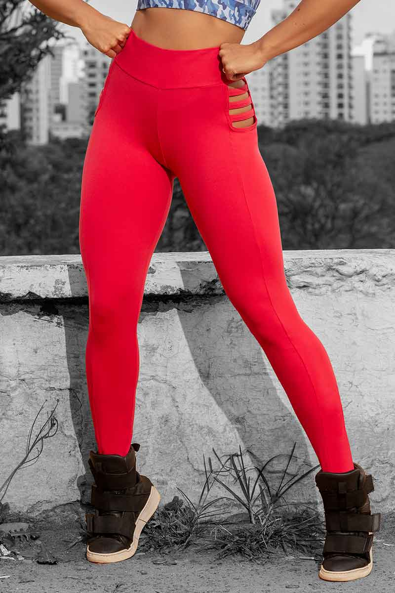 Hipkini Red Haute Legging