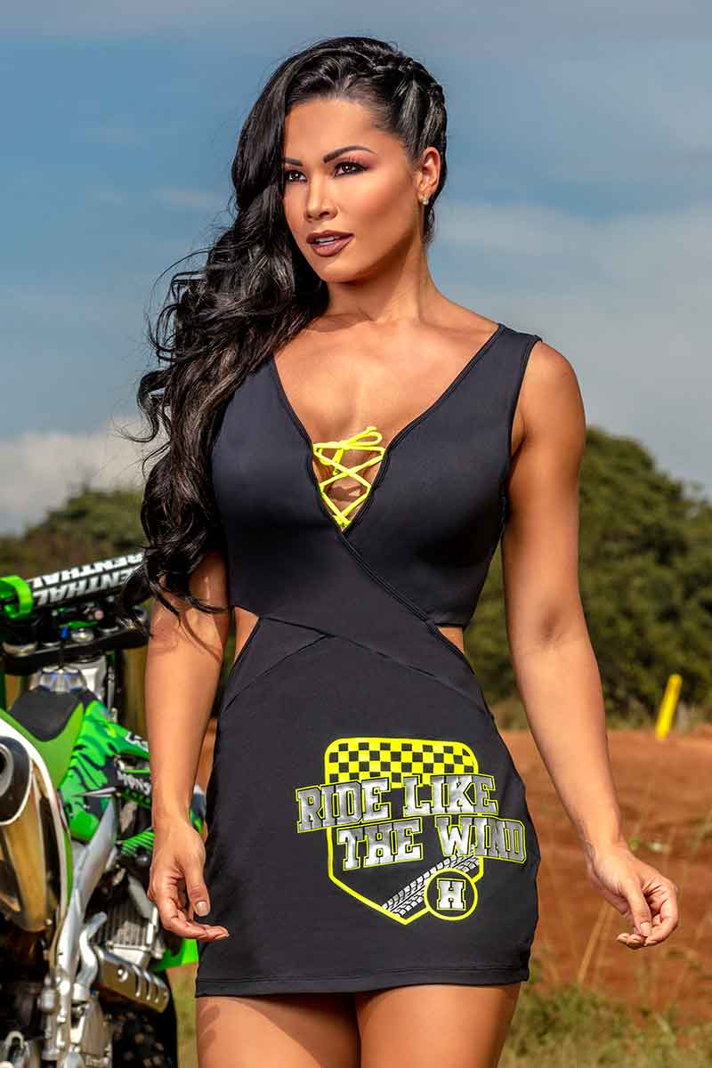 Hipkini Ride Extreme Tank Dress