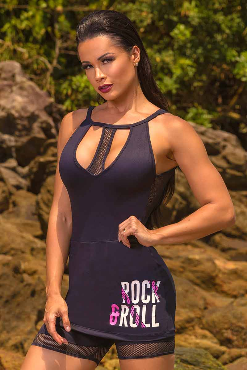 Hipkini Rock & Roll Tank Dress