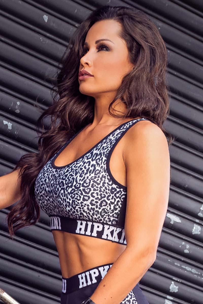 Hipkini Silver Leopard Bra