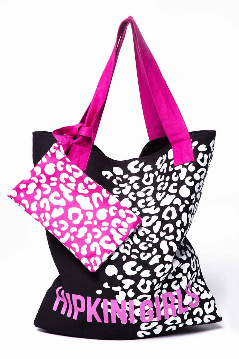 Hipkini Spot On Black Tote Bag