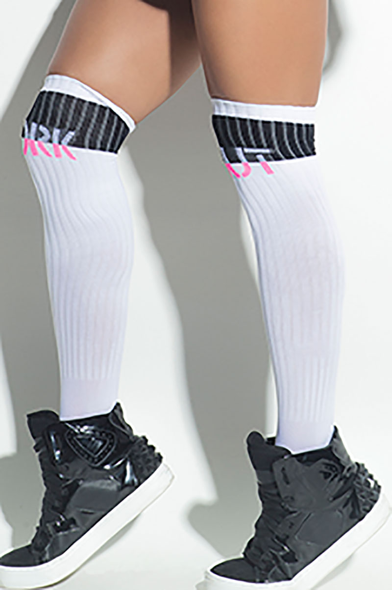 Hipkini White Work Out Socks