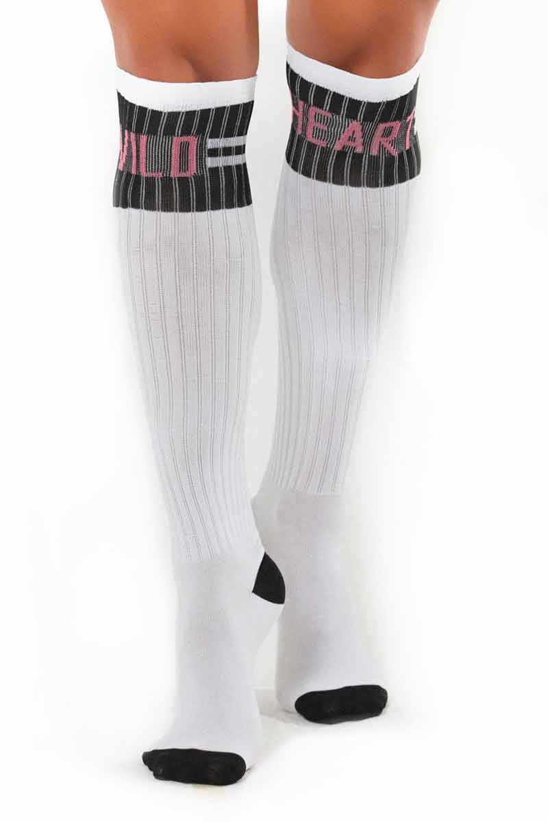 Hipkini Wild Heart White Socks