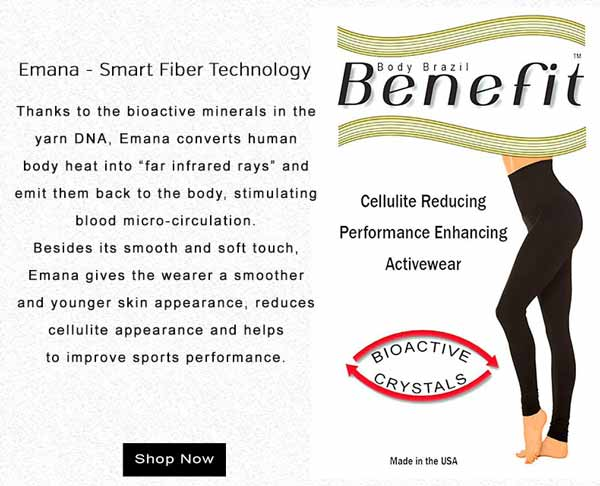 Emana - Smart Fiber Technology | Benefit | Cellulite Reducing | Performance Enhancing Activewear