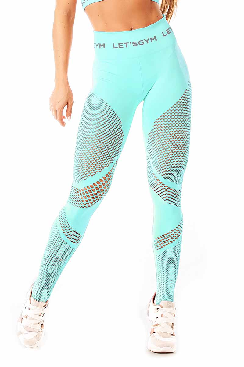 Let's Gym Aquatic Seamless Legging