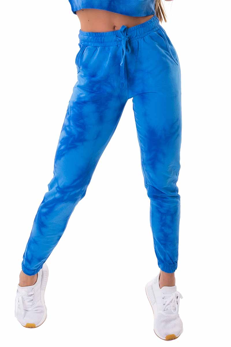 Let's Gym Blue Ocean Pants