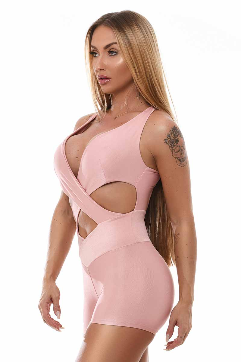 Let's Gym Dream Blush One Piece