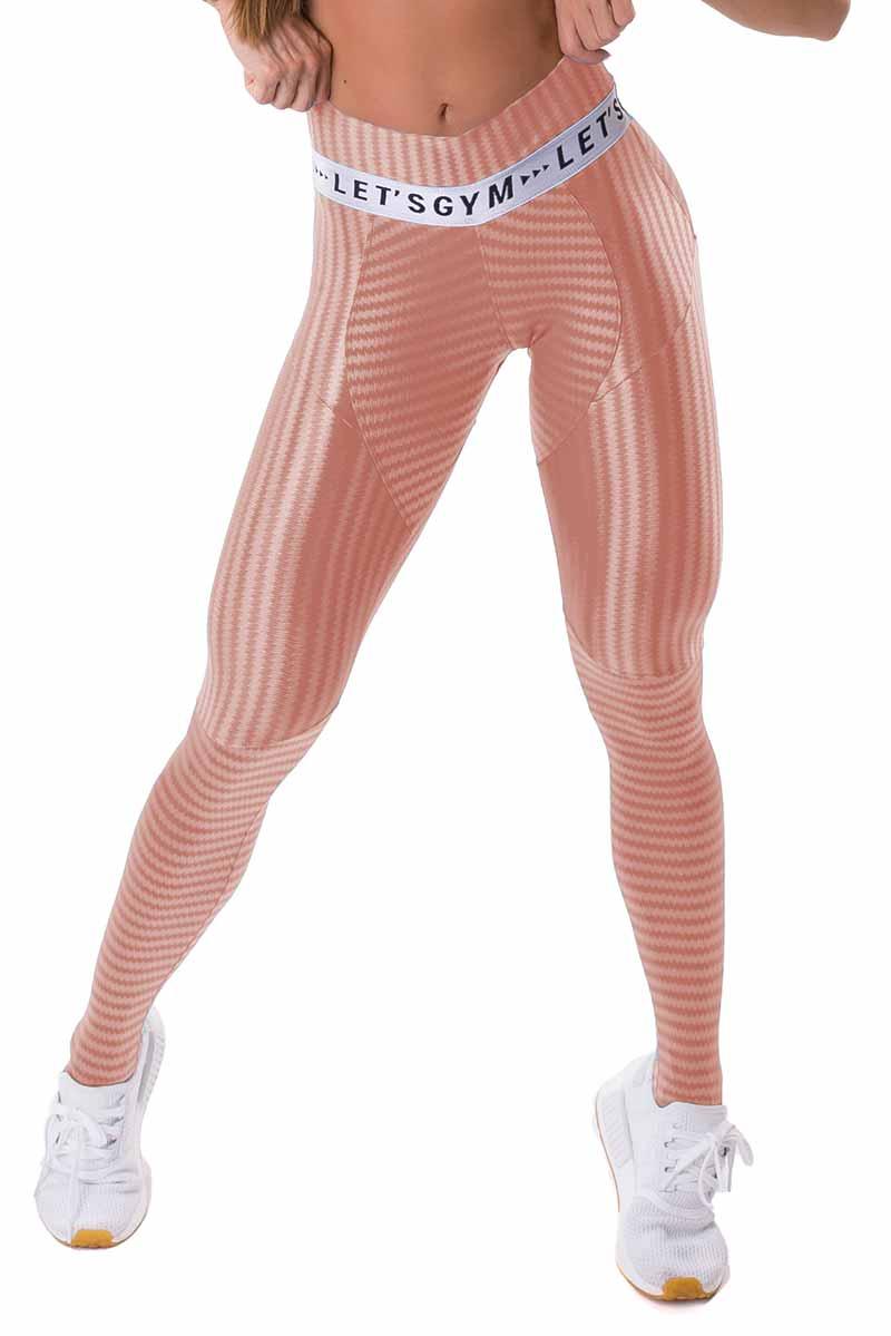 Let's Gym Nude Rose Legging