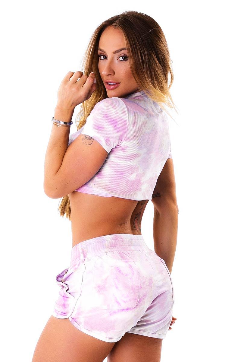 Let's Gym Pink Comfy Shorts