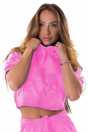 Let's Gym Party Pink Top