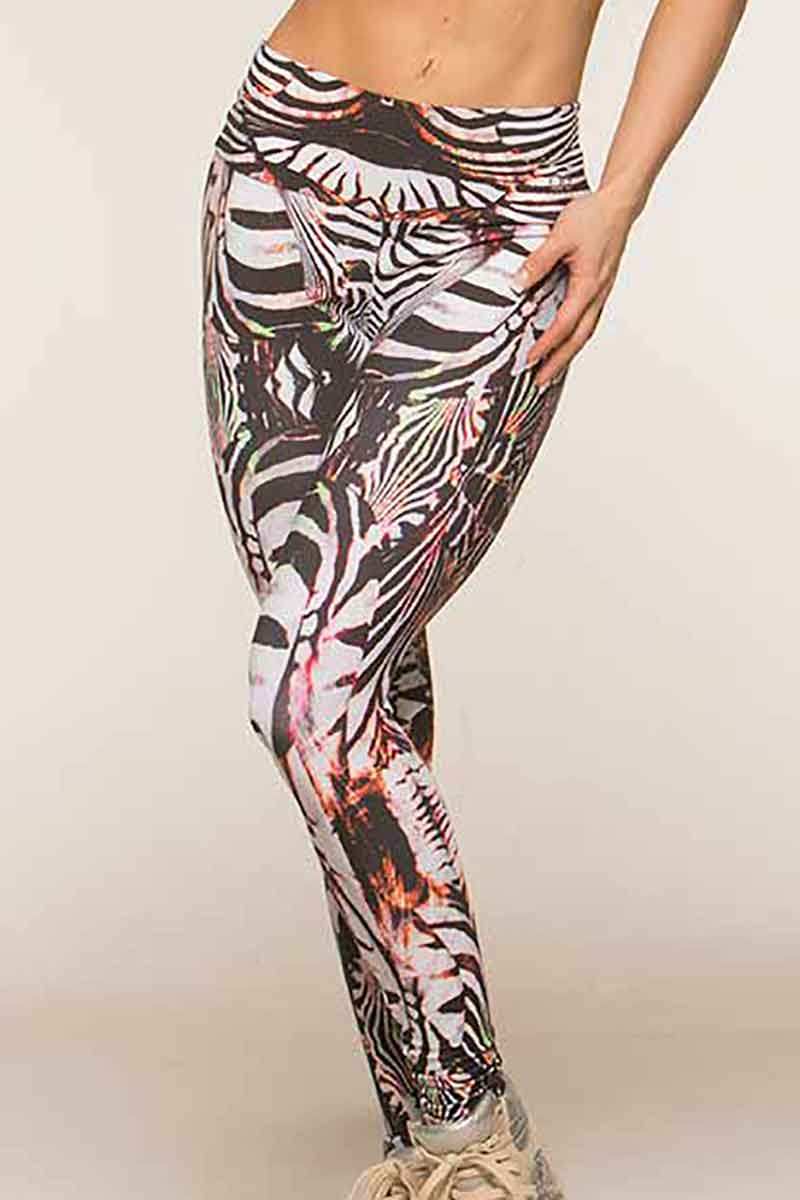 Alto Abstract Zebra Legging