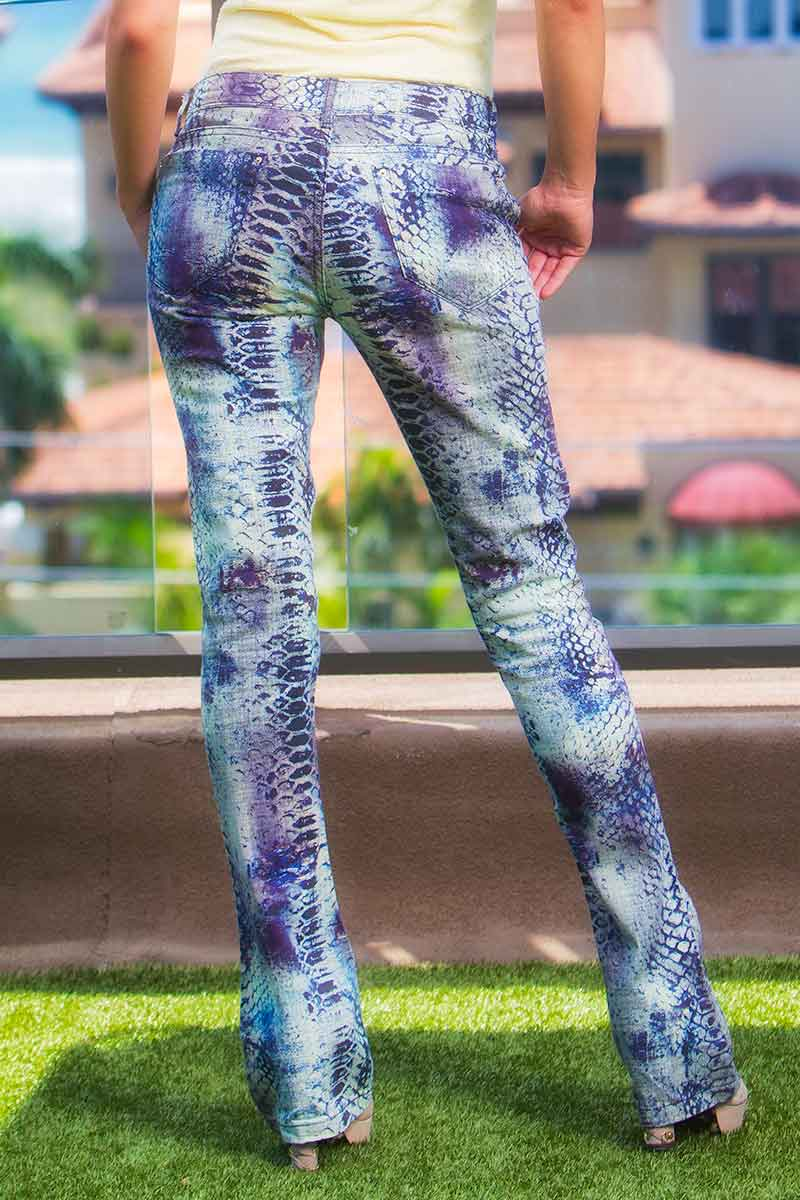 Morena Rosa Blue Nile Jeans