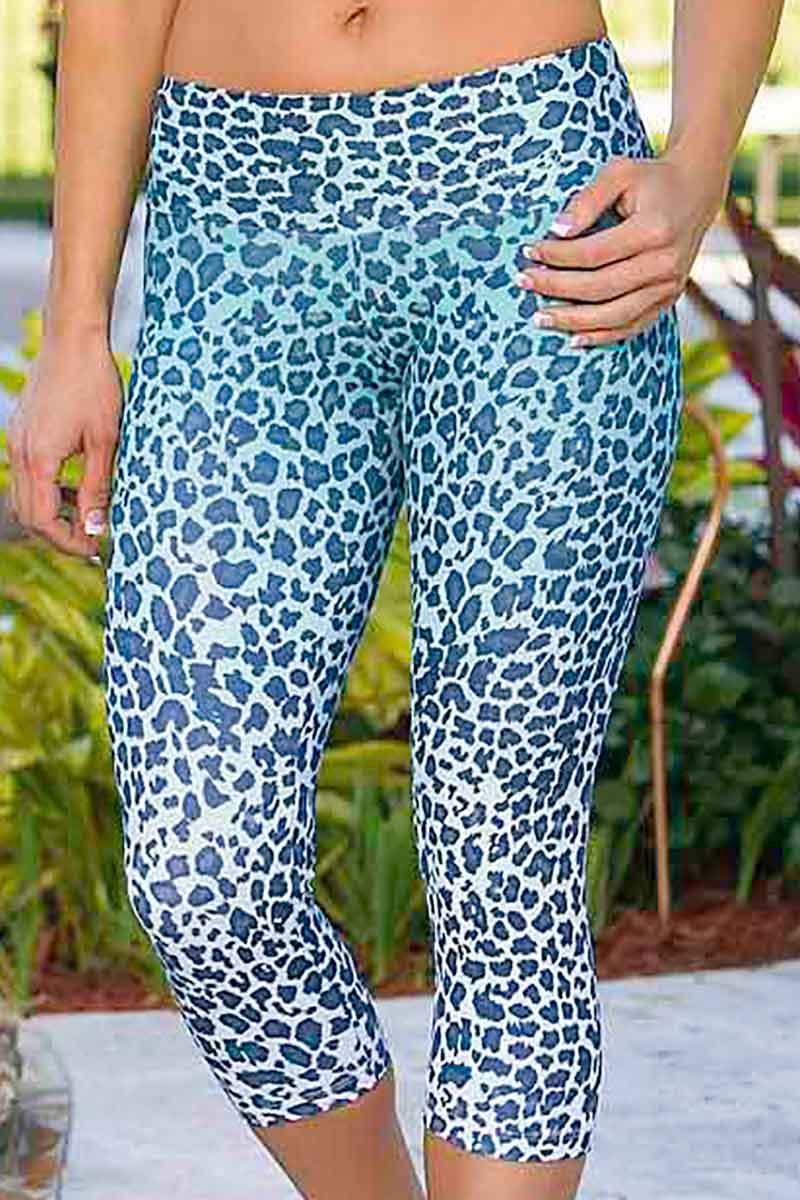 Alto Jade Leopard Capri