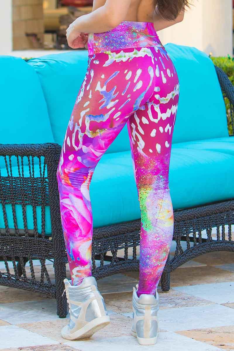 Alto Leopard Blossom Legging