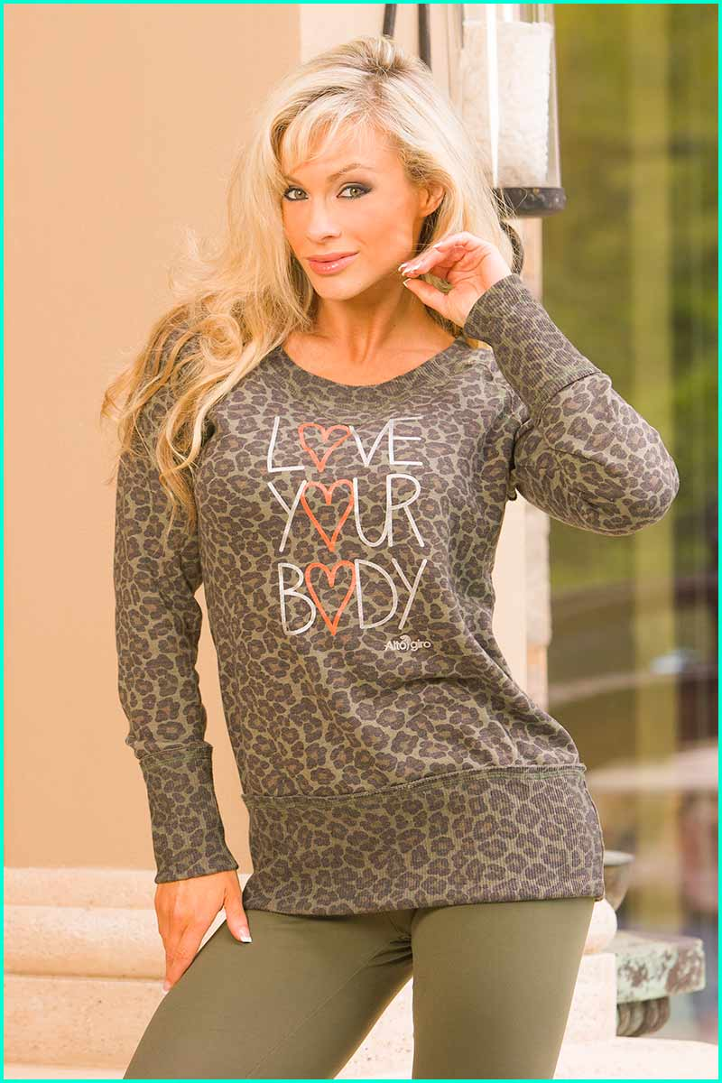 50% OFF Alto LOVE Your Body Sweatshirt