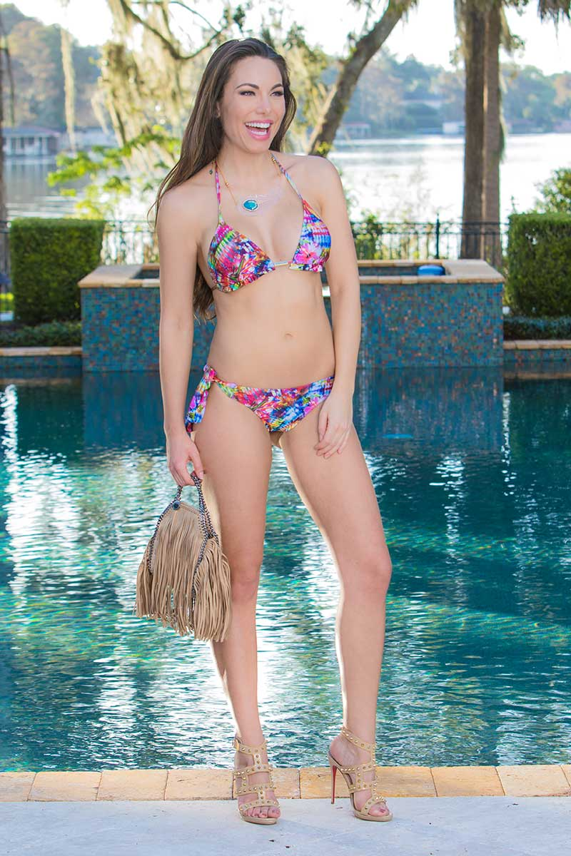 Alto Peony Ruffle Bikini