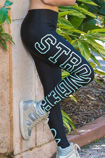 Alto Ebony Stronger Legging