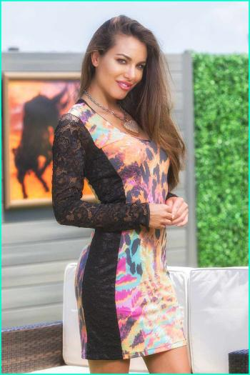 Moikana Luna Lace Dress