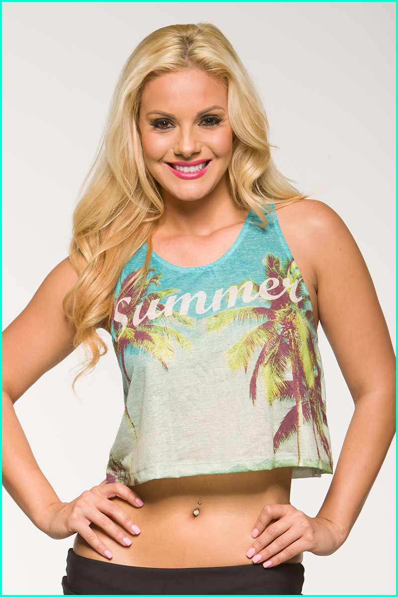 Alto Summer Days Cropped Top