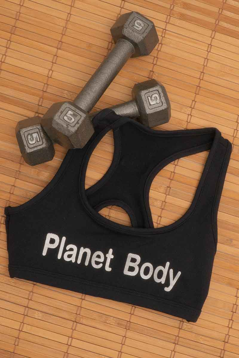 Planet Body Logo Bra