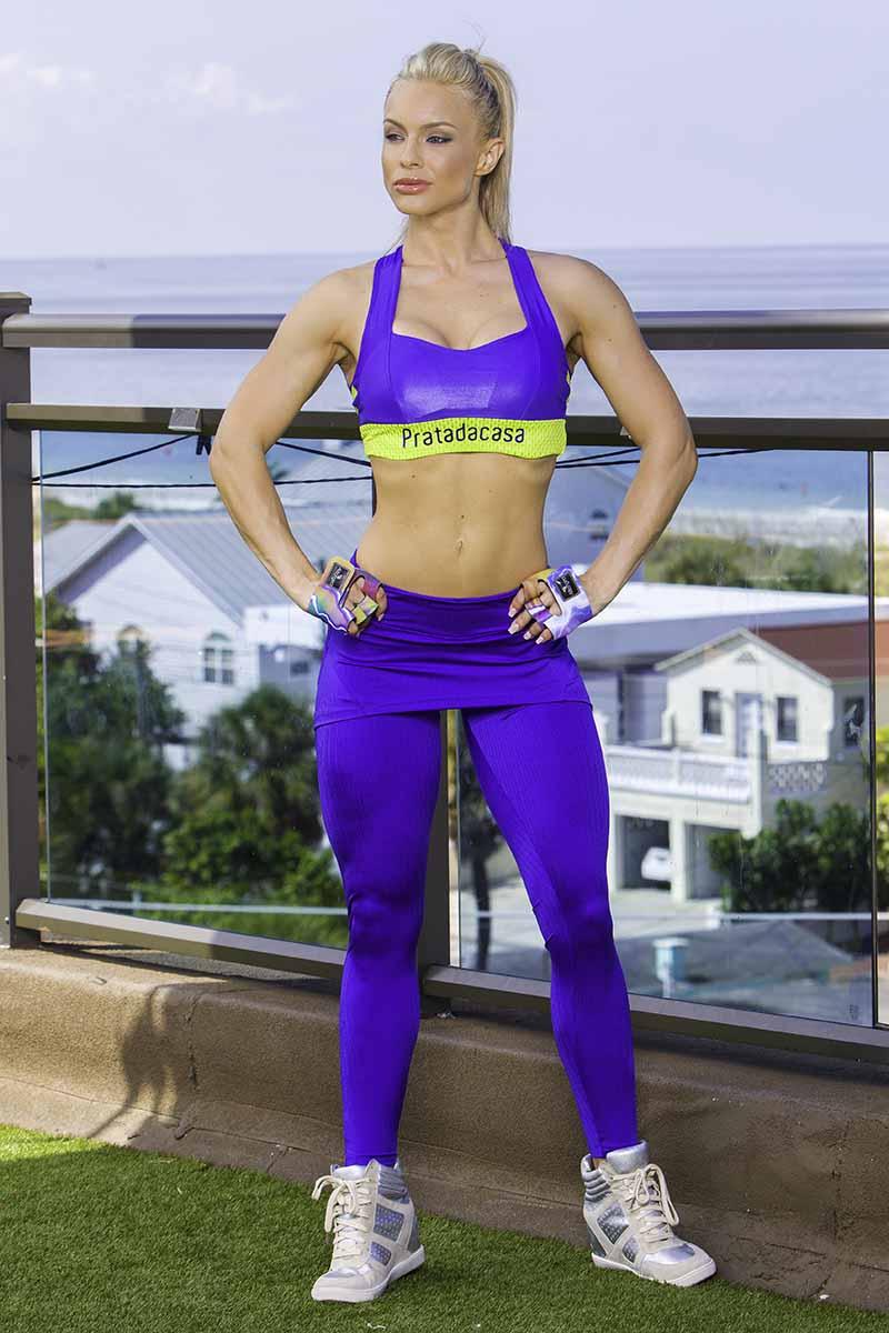 Prata Passion For Purple Legging