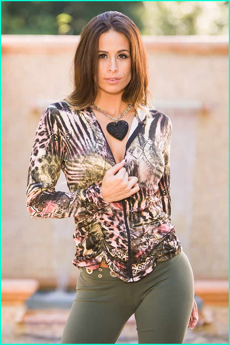 EQ Blush Tiger Jacket