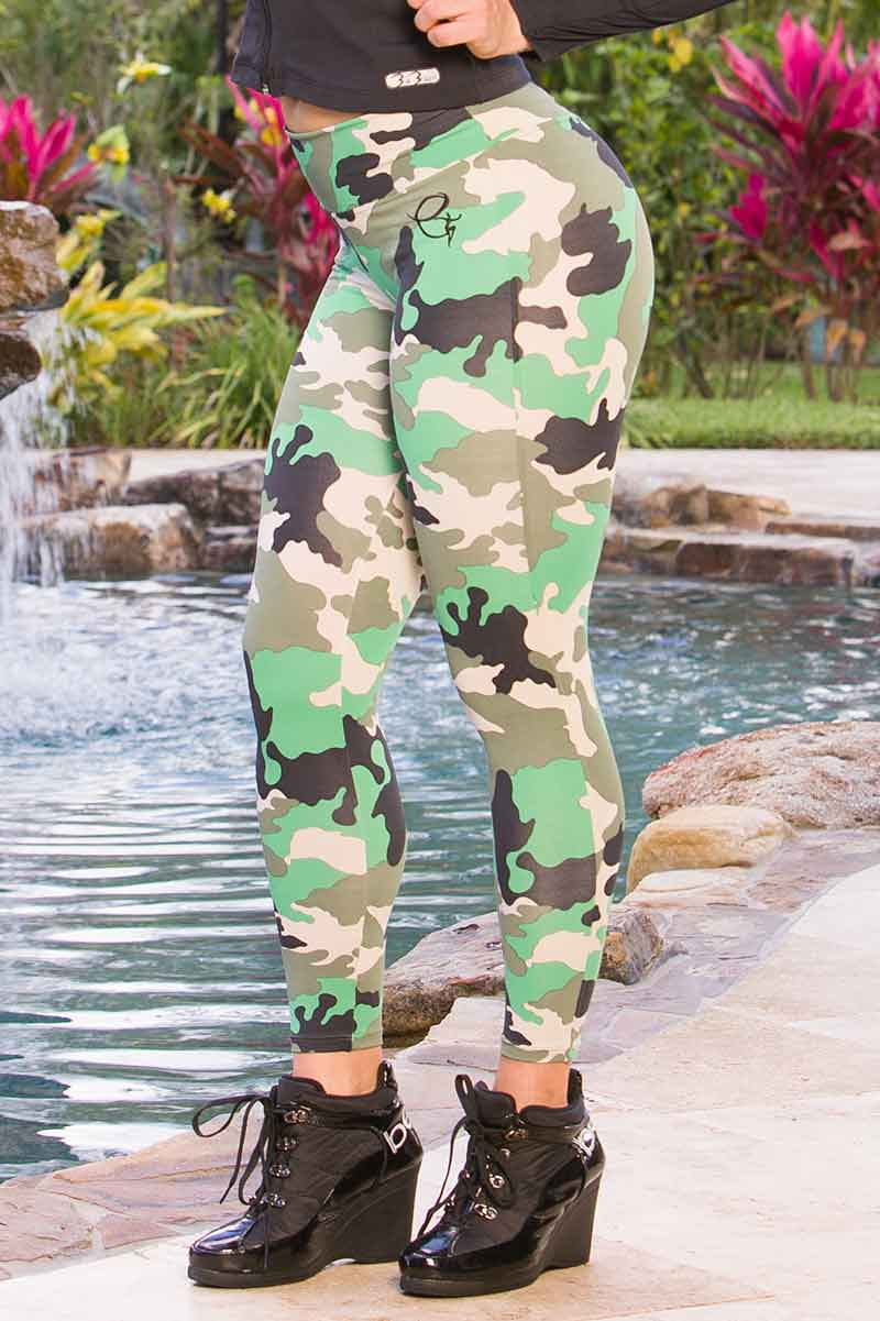 EQ Brazil Jungle Camo Legging