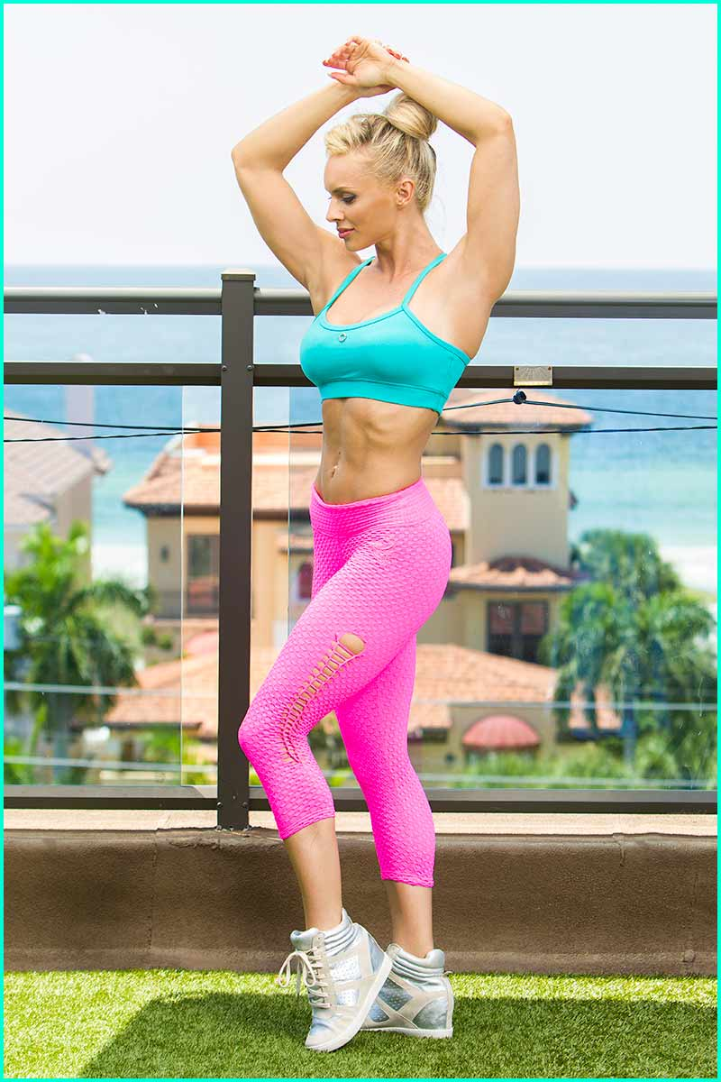EQ Brazil Pop Of Pink Capri