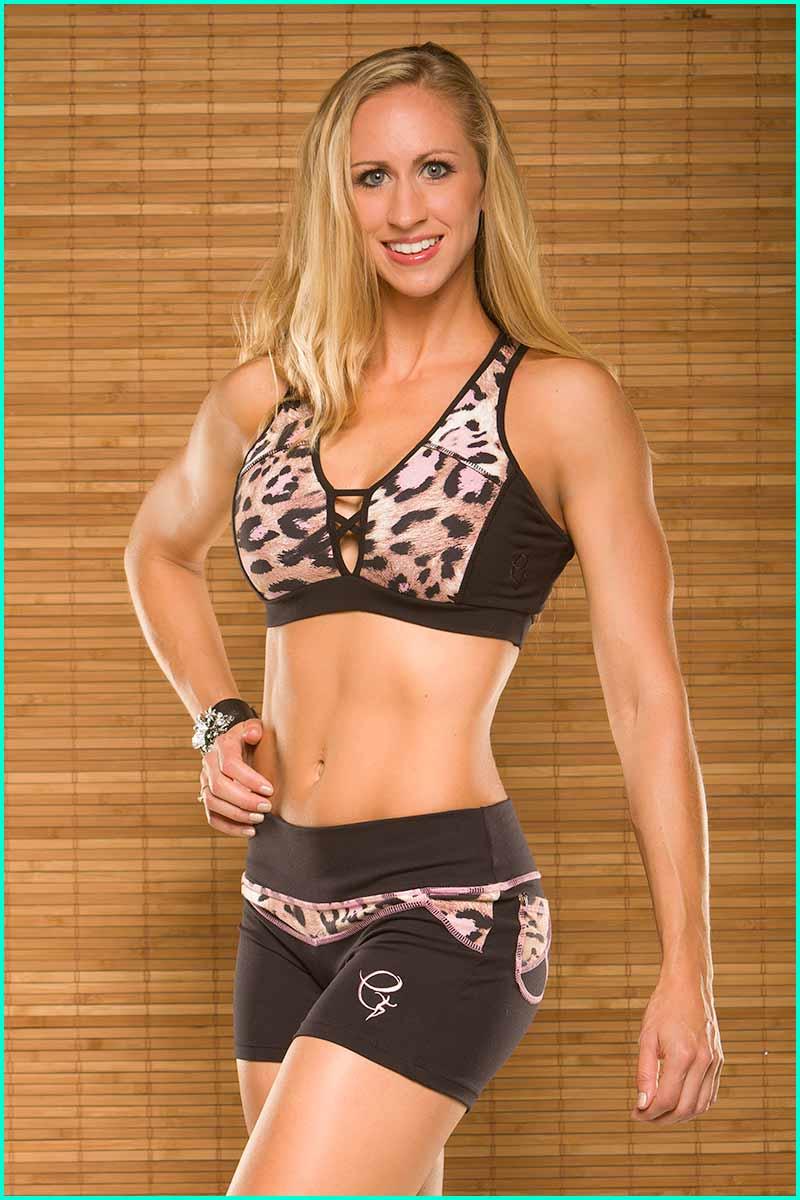 EQ Brazil Tiger Lily Essential Shorts