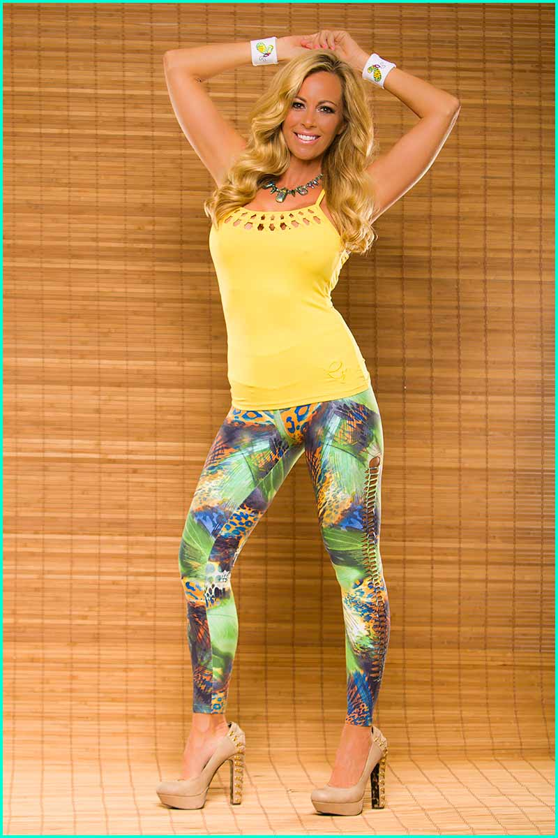 EQ Brazil Tropical Leopard Legging