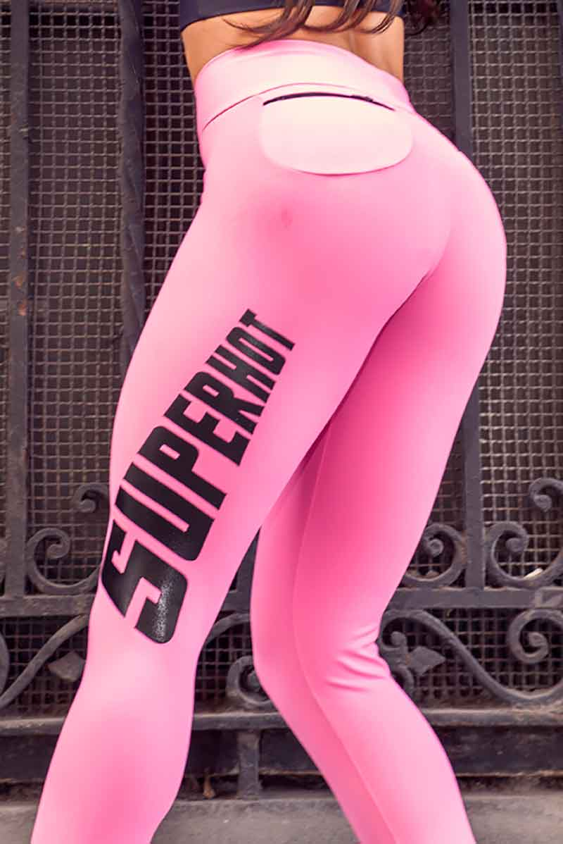 Super Hot Addicted to Pink Legging