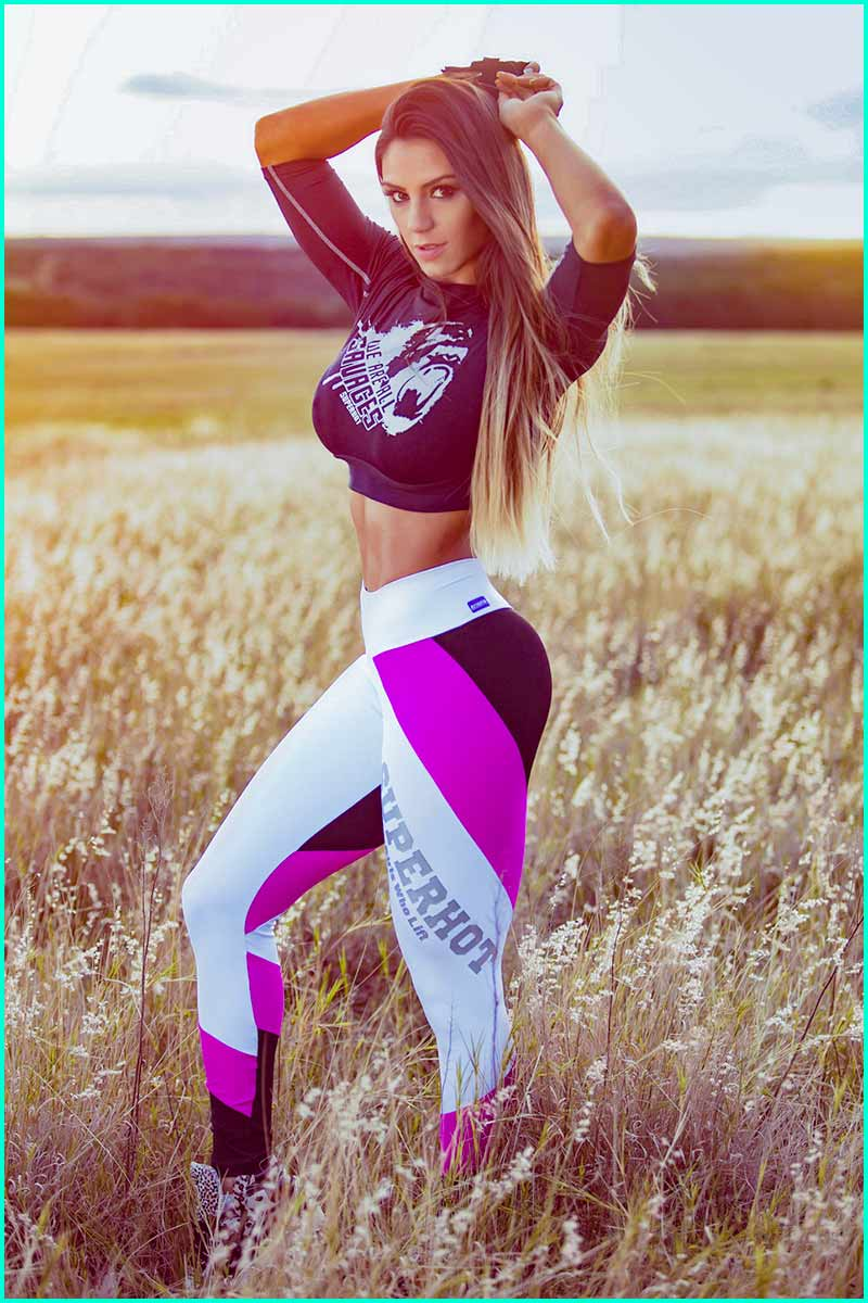 Super Hot Girls Who Lift Legging