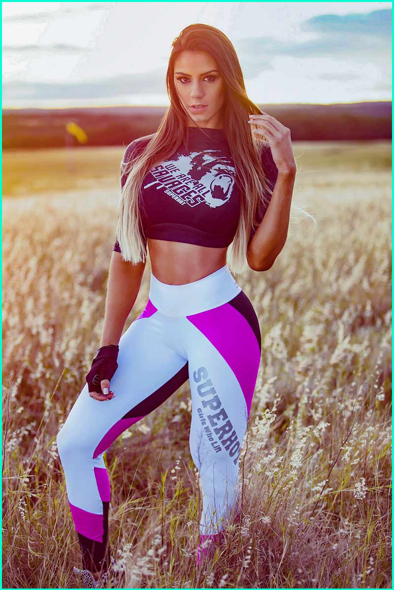 Superhot Girls Who Lift Legging