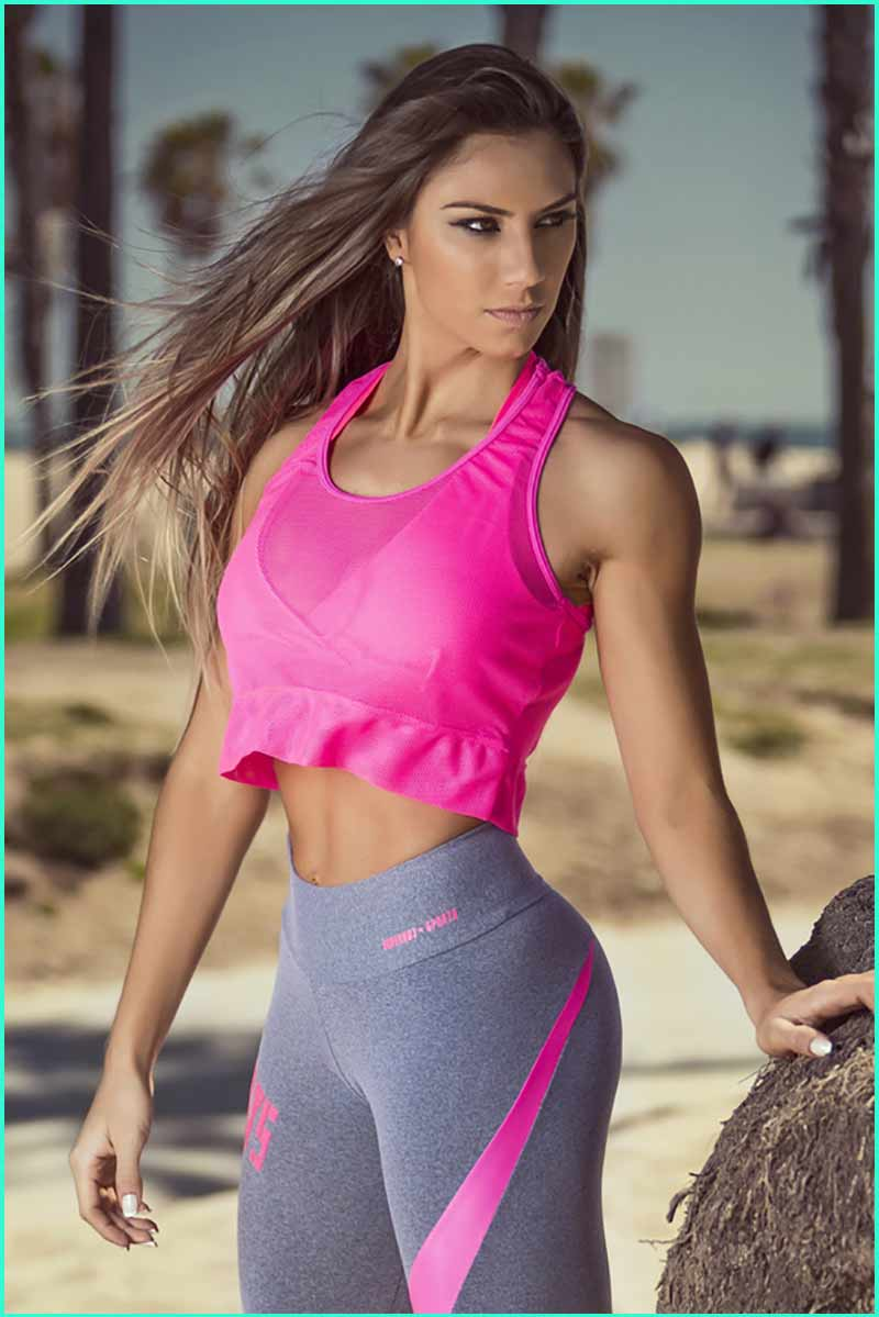 Super hot girl mesh pink top for Best women pictures